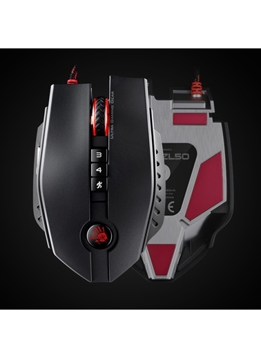 Bloody Zl50 Siyah M.Core Lazer 8200Cpı-İsw, İsc,Ma Siyah